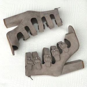 Shoes - Taupe high heels